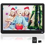 MELCAM Digitaler Bilderrahmen 10 Zoll mit 32GB Sd...