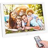 TENSWALL 10 Zoll Digitaler Bilderrahmen 1280x800...